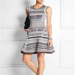 DVF Stretch Fit and Flare Dress